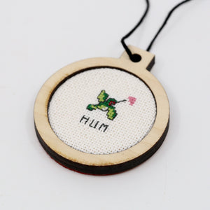 One-of-a-Kind Cross Stitch Design | Hummingbird | Hum