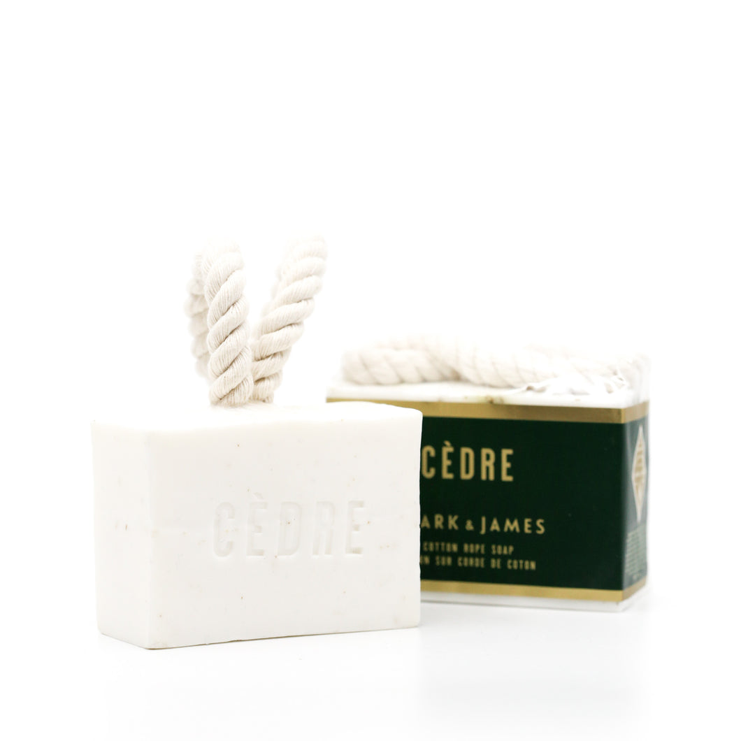 Cotton Rope Soap | Cèdre