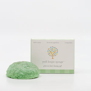 Green Tea Facial Konjac Sponge