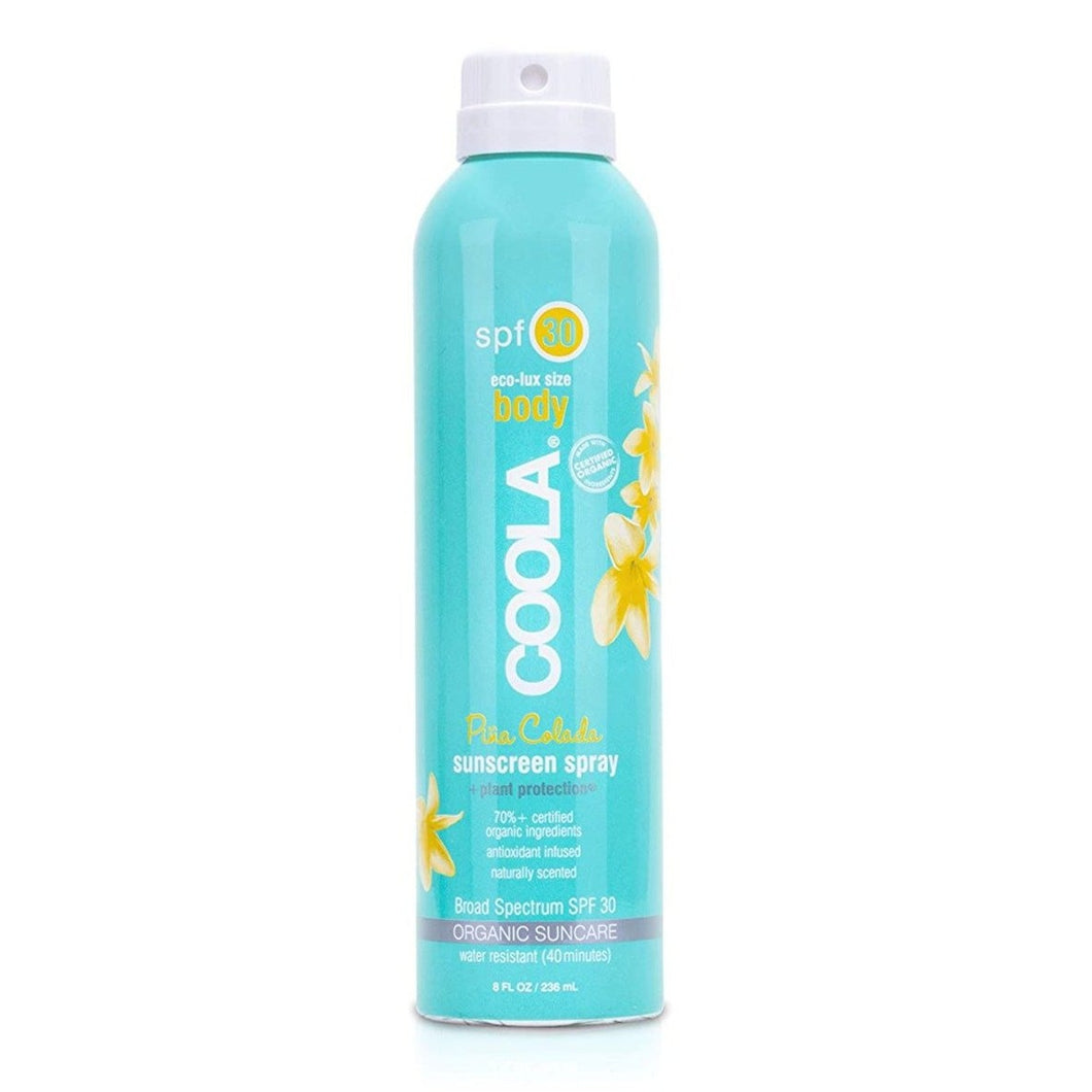 Eco-Lux Body Sunscreen Spray | Pina Colada | SPF 30