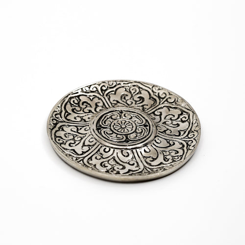 Recycled Aluminum Lotus Incense Holder