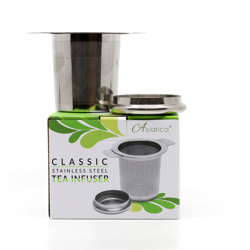 Stainless Steel 2-in-1 Tea Infuser with Lid