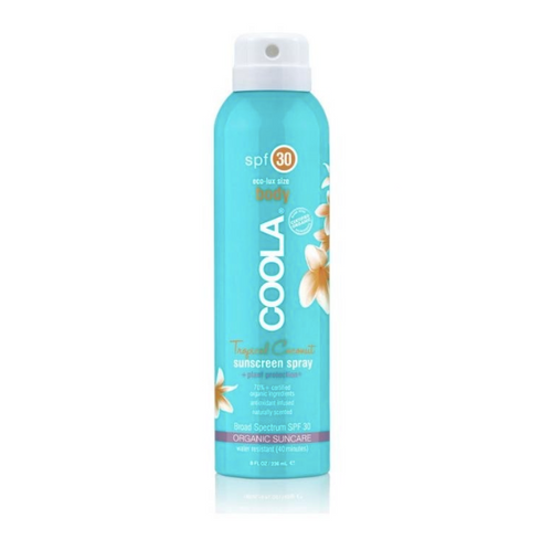 Eco-Lux Body Sunscreen Spray | Tropical Coconut | SPF 30