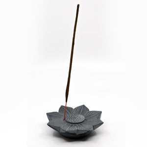 Soapstone Lotus Incense Holder