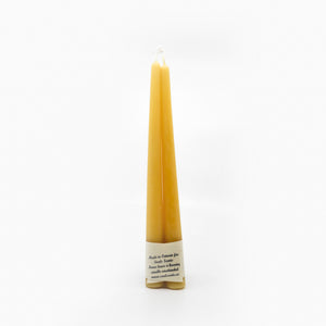 Beeswax Candle | Taper Pair
