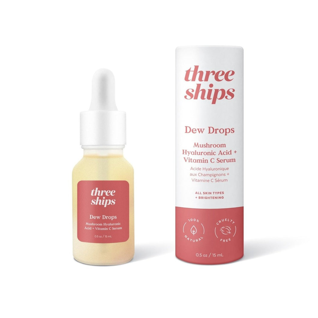 Dew Drops Mushroom Hyaluronic Adic + Vitamin C Serum