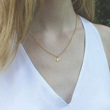 Gold Little Bee Necklace