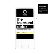 Takesumi Detox Deodorant  |  Juicy Bamboo  |  Travel Size