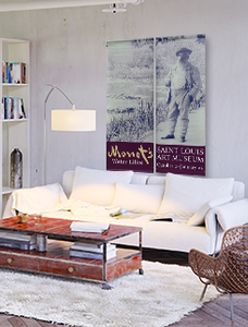 Monet Banner in Loft Space
