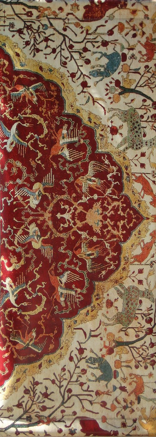 16th Century Coronation Carpet-Printed vinyl-LACMA-BetterWall