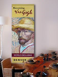 large wall art featuring Van Gogh self portrait
