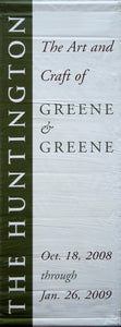 "Greene & Greene ""Chair"""