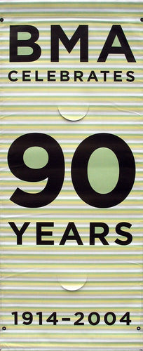 90 Years of BMA (horizontal stripe)-Printed 2-ply vinyl-The Baltimore Museum of Art-BetterWall