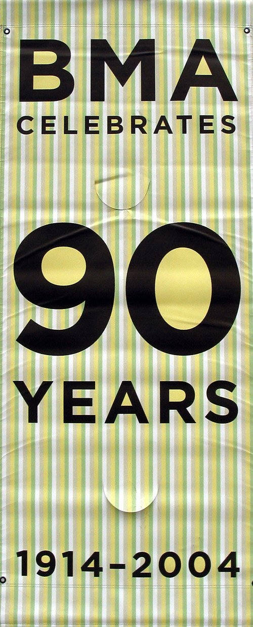 90 Years of BMA (vertical stripe)-Printed vinyl-The Baltimore Museum of Art-BetterWall