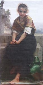 "Bouguereau ""The Broken Pitcher""-Printed vinyl-Legion of Honor-BetterWall"