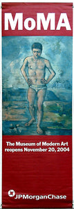 "Cézanne ""The Bather""-Printed vinyl-MoMA-BetterWall"