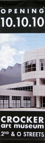 Charles Gwathmey Crocker Art Museum Expansion-Printed vinyl-Crocker Art Museum-BetterWall