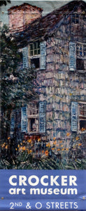 "Childe Hassam: ""Old House, East Hampton""-Printed vinyl-Crocker Art Museum-BetterWall"