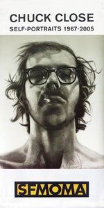 "Chuck Close ""Self-Portraits""-Printed vinyl-SFMOMA-BetterWall"