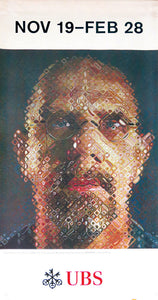 large wall art featuring chuck close