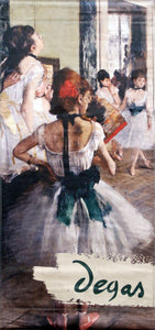 "Degas ""The Dancing Lesson""-Printed 2-ply vinyl-de Young Museum-BetterWall"