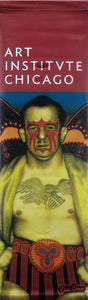 "Ed Paschke ""Mid American""-Printed vinyl-The Art Institute of Chicago-BetterWall"
