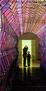 "Eliasson ""Colour Tunnel""-Printed vinyl-SFMOMA-BetterWall"