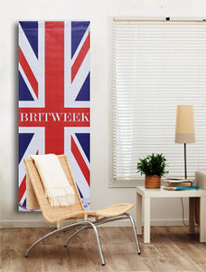 Large Wall Art from BritWeek LA featuring the Union Jack.