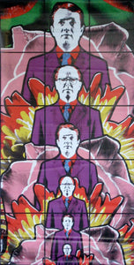 "Gilbert & George ""Death""-Printed vinyl-BetterWall-BetterWall"