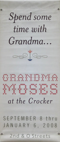 Grandma Moses at the Crocker-Printed vinyl-BetterWall-BetterWall
