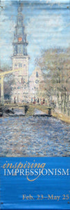 "Monet ""View of Amsterdam""-Printed vinyl-Denver Art Museum-BetterWall"