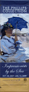 "Monet ""Woman with Parasol""-Printed 2-ply vinyl-The Phillips Collection-BetterWall"