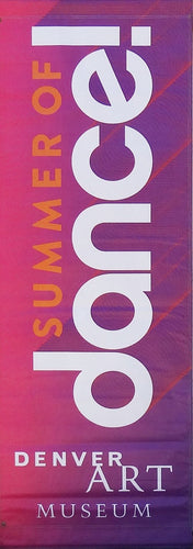 Summer of Dance-Printed 2-ply vinyl-Denver Art Museum-BetterWall