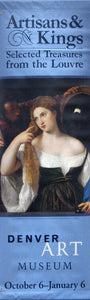 "Titian ""Woman at the Mirror""-Printed vinyl-Denver Art Museum-BetterWall"