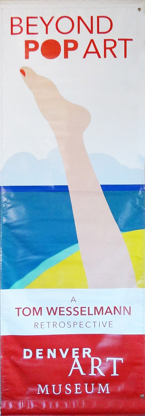 Tom Wesselmann - Seascape 22-Printed 2-ply vinyl-Denver Art Museum-BetterWall
