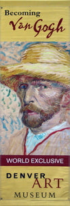 "Van Gogh ""Self-portrait With Straw Hat""-Printed 2-ply vinyl-Denver Art Museum-BetterWall"