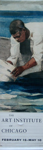 "Winslow Homer ""The Water Fan""-Printed vinyl-The Art Institute of Chicago-BetterWall"