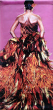 "Yves Saint Laurent ""Feather Dress""-Printed vinyl-de Young Museum-BetterWall"