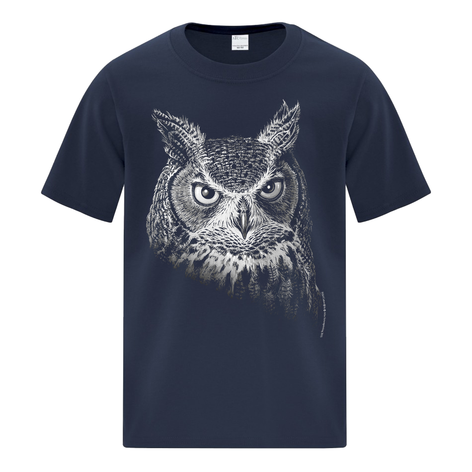 Owl Portrait - Youth T-shirt