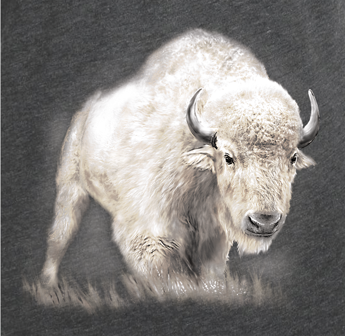 White Bison T-shirt