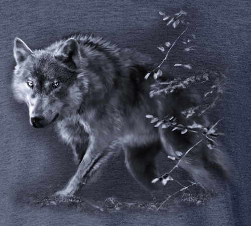 Wolf On The Prowl T-shirt