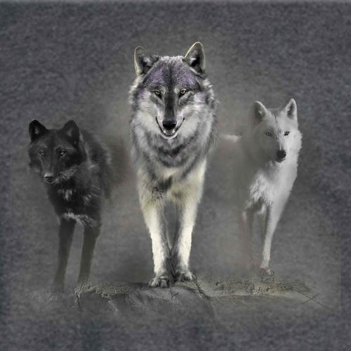 Wolf Tribute Long Sleeve T-shirt