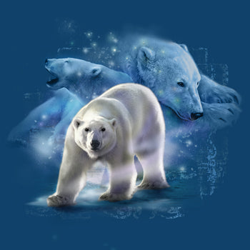 Northern King by Tami Alba - painting of beautiful polar bear images