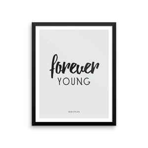 Minimalist Print Download : Forever Young