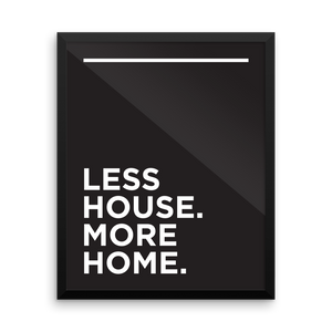 Minimalist Print Download : Less House More Home