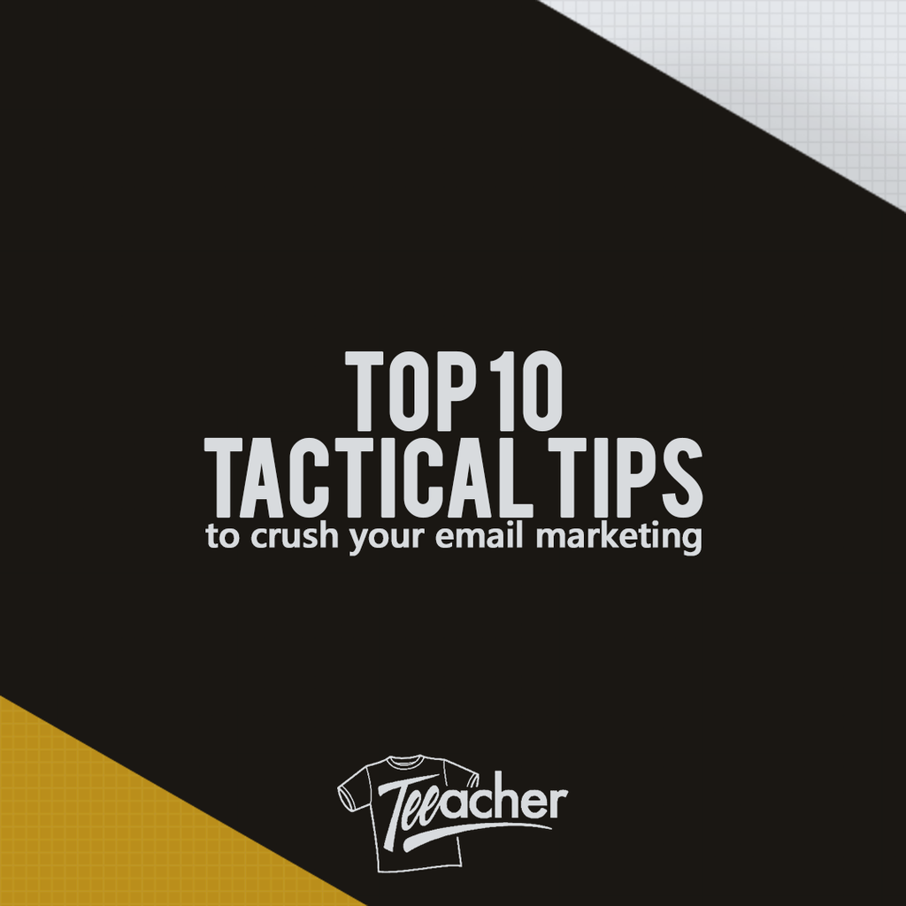 10 Tactical Email Tips - Miami Klaviyo Workshop Round Up
