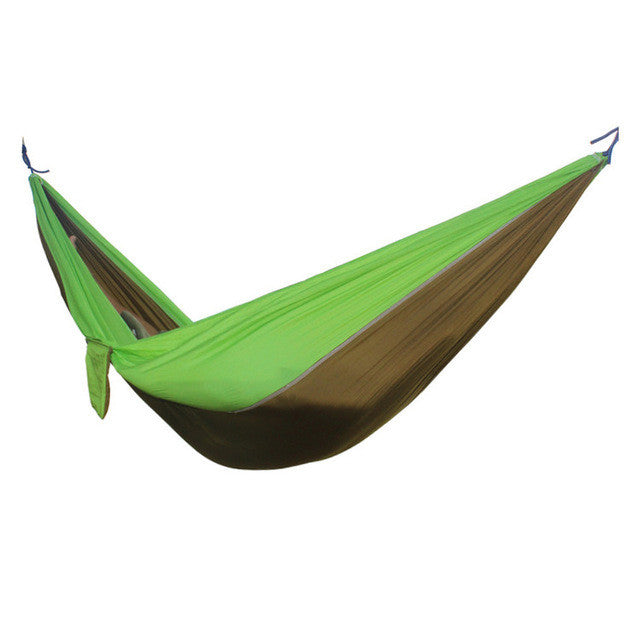 Medium image of     portable parachute hammock camel green