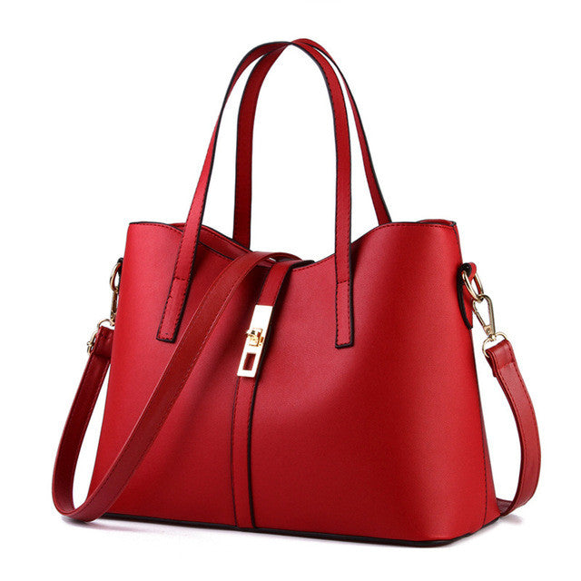 Leather Shoulder Bag Satchel Handbags Purse | Seventy-One