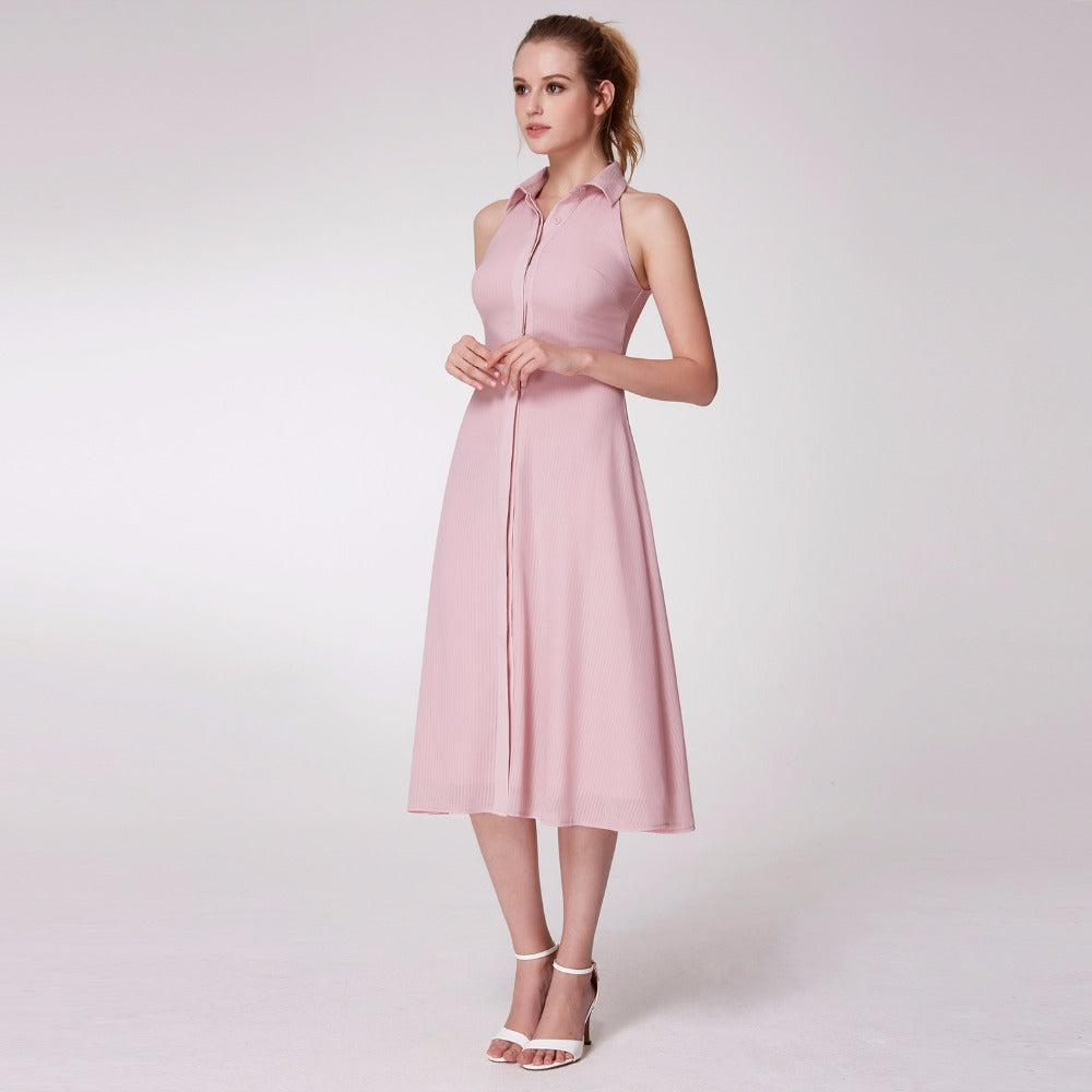 Women Spring Vintage Casual Loose Dresses | 71company.shop