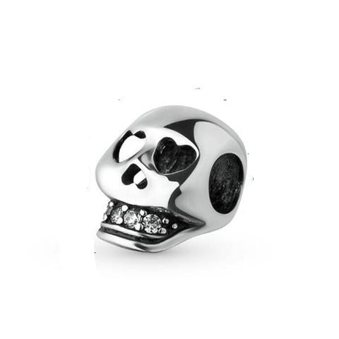 Awesome Sterling Silver Skull Charm